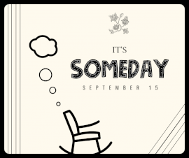 Online Editable Someday September 15 Facebook Post