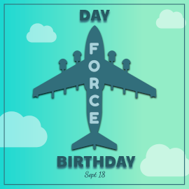 Air Force Birthday - Instagram Post