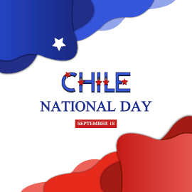 Chile National Day - Instagram Post