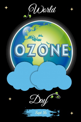 World Ozone Day -  Pinterest Graphic