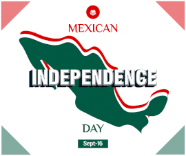 Online Editable Mexican Independence Day September 16 Facebook Post
