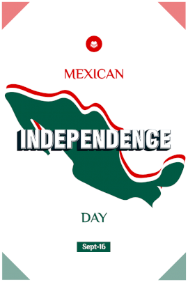 Mexican Independence Day - Pinterest Graphic