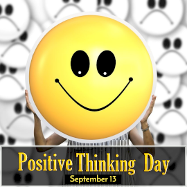 Positive Thinking Day - Instagram Post