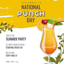 National Punch Day - Instagram Post