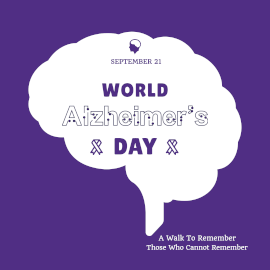 World Alzheimer's Day - Instagram Post