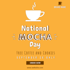 National Mocha Day - Instagram Post