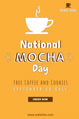 National Mocha Day - Pinterest Graphic