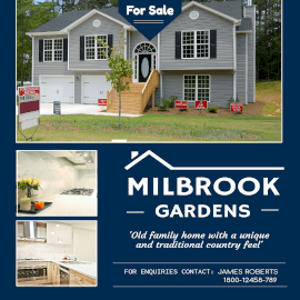 Online Editable Milbrook Gardens For Sale Instagram Ad