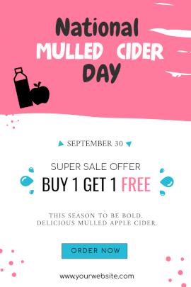 National Mulled Cider - Pinterest Graphic