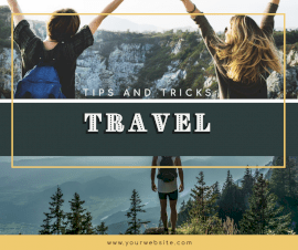 Online Editable Travel Guide Facebook Post